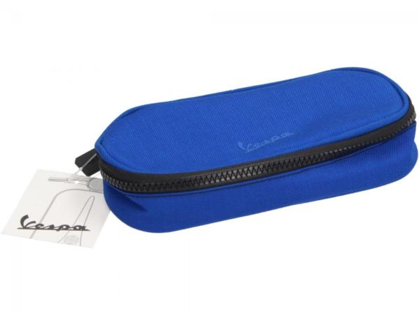 Vespa portamatite blu