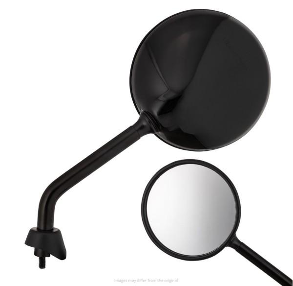 Specchio Shorty, nero lucente, destro e sinistro per Vespa GTS / GTS Super HPE 125/300 ('19-)