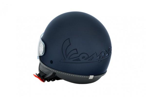 Vespa Casco jet Visor 3.0 blu armonia