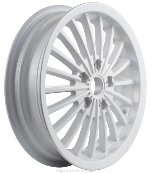 Cerchione anteriore/posteriore per Vespa GTS/GTS Super/GTV/GT 60/GT/GT L 125-300ccm, bianco