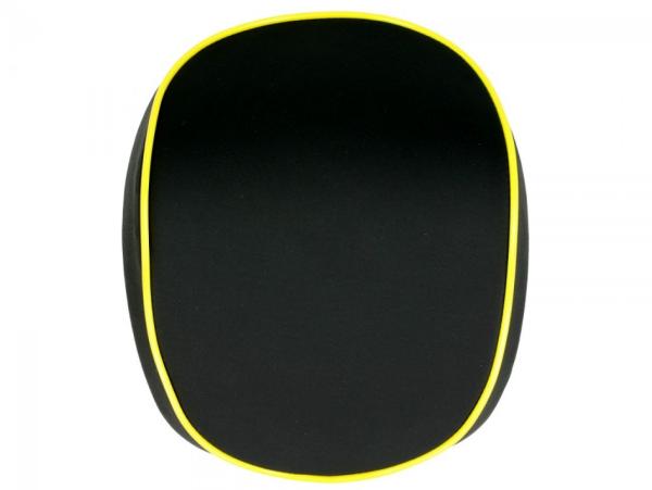 Original schienale per Topcase Vespa Elettrica giallo/yellow