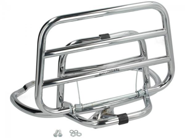 Portapacchi posteriore Vespa Primavera / Sprint / Elettrica - cromo