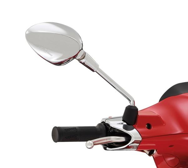 Specchio destro cromato per Vespa Sprint 50-150ccm 2T / 4T