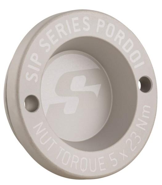 """Tappo antipolvere 13"""" cerchione anteriore per Vespa GTS/GTS Super/GTV/GT 60/GT/GT L 125-300ccm, argento opaco"""