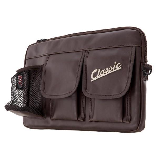 """Borsa """"Classic"""" per vano bagagli / vano portaoggetti Vespa - colore marrone, pelle sintetica"""