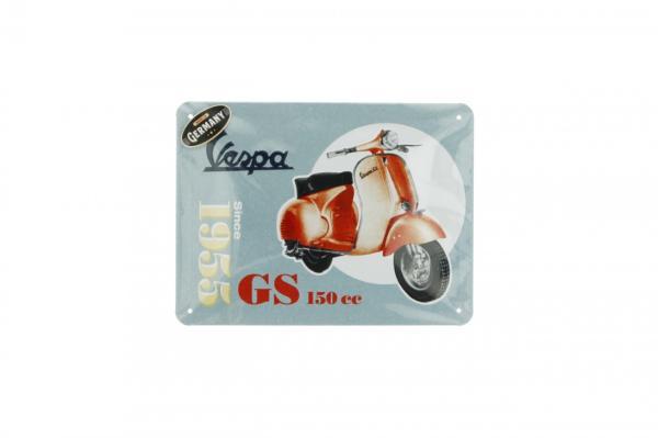 Vespa piastra metallica Vespa GS150 since 1955