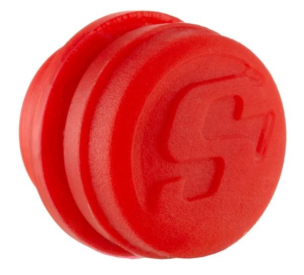 Tappo contrappeso manubrio, rosso