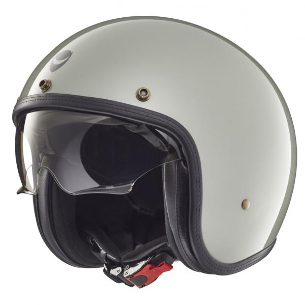 Helmo Milano casco jet, Audace, grigio