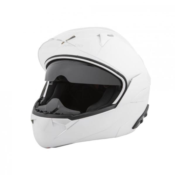 Piaggio casco modulare bianco
