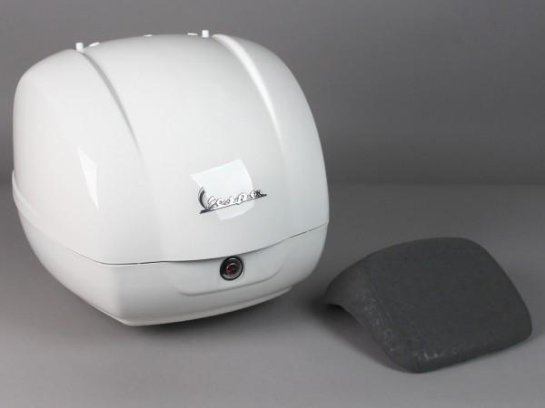 Originale bauletto Vespa GTS - bianco montebianco / innocenza 544 (a 2014)