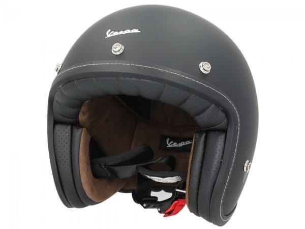 Casco Vespa P-Xential 2.0 Open Face - nero opaco