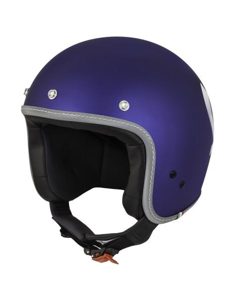Vespa Casco Color Jet blu viola