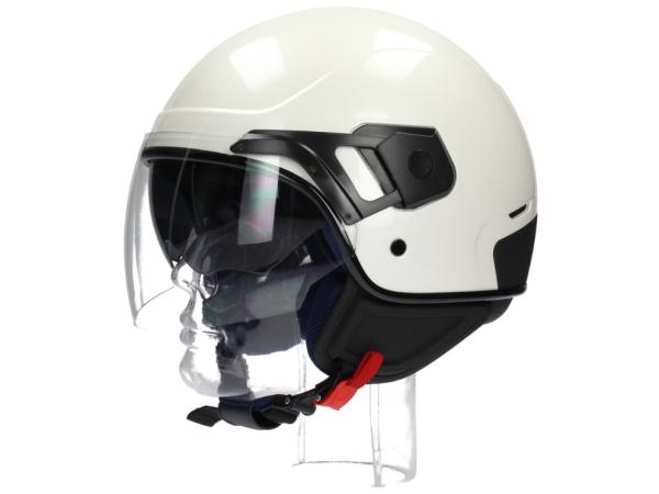 Piaggio casco PJ Jet bianco perla