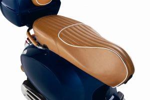Luxury Line - vera pelle Sitzbank per Vespa Primavera