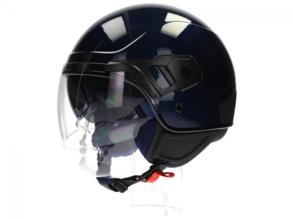 Piaggio casco PJ Jet blu