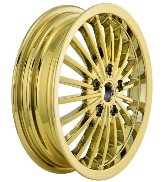 Cerchione anteriore/posteriore per Vespa GTS/GTS Super/GTV/GT 60/GT/GT L 125-300ccm, oro