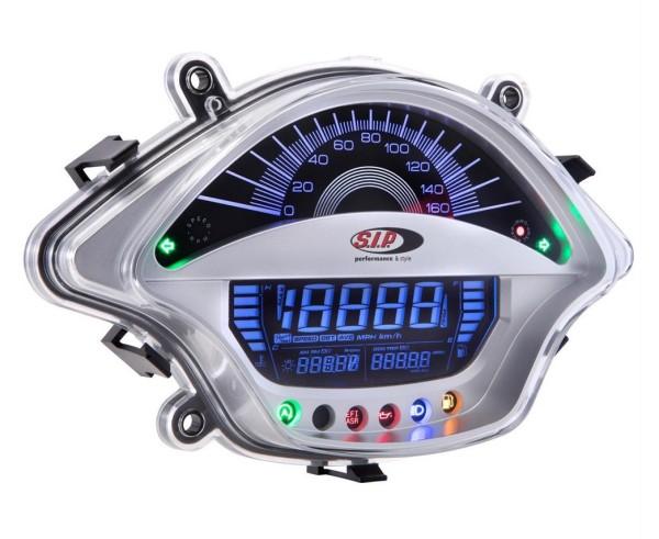 Contagiri/Contachilometri per Vespa GTS/GTS Super 300ccm FL ('14-), argento