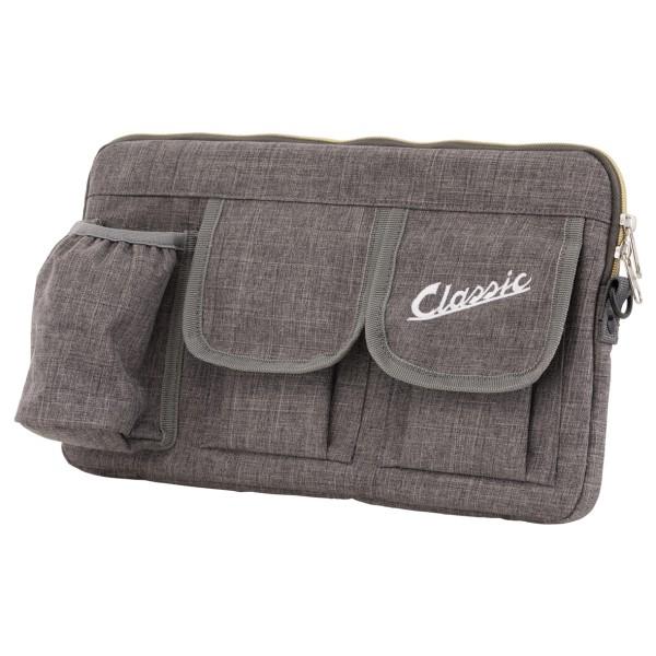 """Borsa """"Classic"""" per vano bagagli / vano portaoggetti Vespa - grigia, in nylon"""