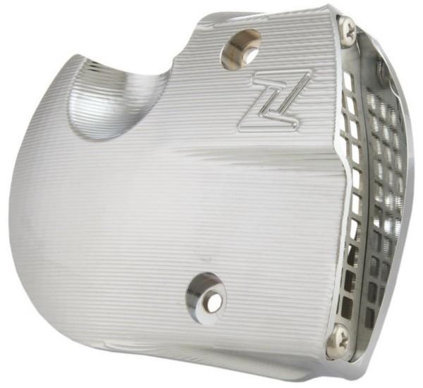 Bocchettoni aria coperchio variatore per Vespa GTS/GTS Super/GTV/GT, cromo
