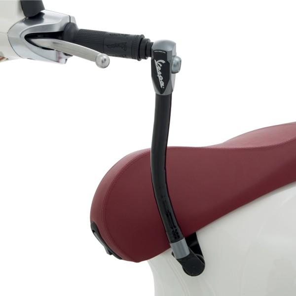 Original dispositivo antifurto (sedile - manubrio) rinforzato perVespa Primavera / Sprint / Elettrica
