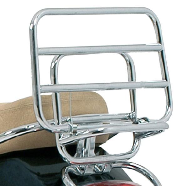 Original Portapacchi posteriore pieghevole cromato Vespa LX / S