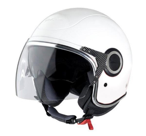 Vespa casco VJ bianco