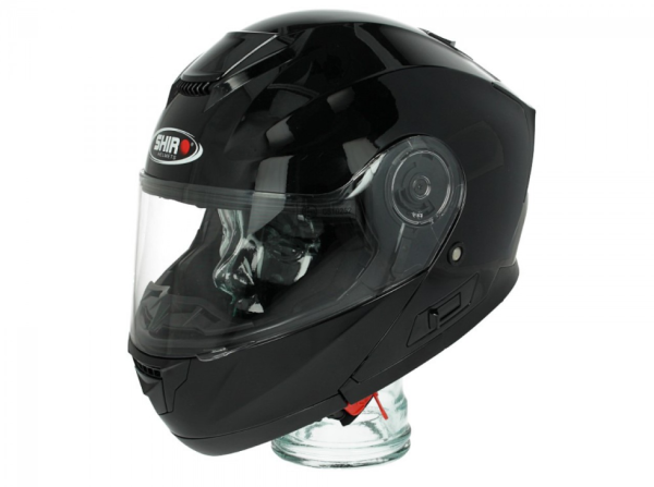 Shiro Casco Flip Up, SH507, nero