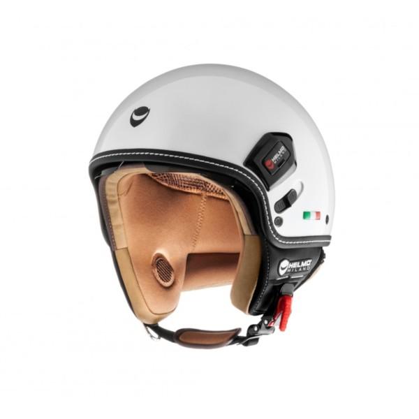 Helmo Milano Demi Jet, Puro Premium, bianco, lucido