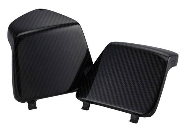 Coperchio portaoggetti sinistro/destro per Vespa GTS/GTS Super/GTV/GT 125-300ccm, carbonio