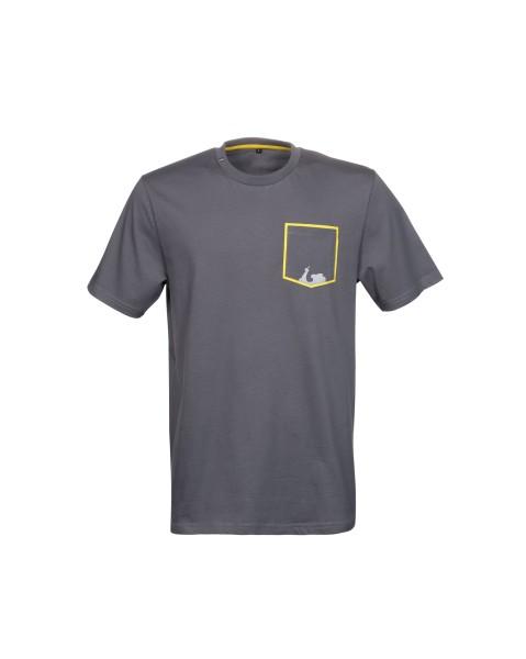 Vespa Graphic T-Shirt uomo grigio