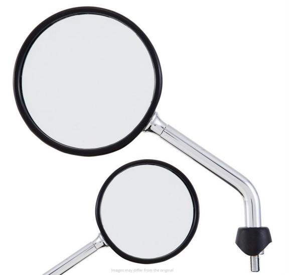 Specchio Shorty per Vespa, cromo, destro e sinistro