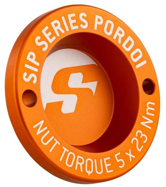 """Tappo antipolvere 12"""" cerchione anteriore per Vespa GTS/GTS Super/GTV/GT 60/GT/GT L 125-300ccm, arancione opaco"""