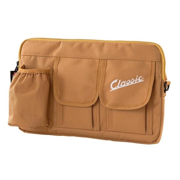 """Borsa """"Classic"""" per vano bagagli / vano portaoggetti Vespa - nera, in nylon"""