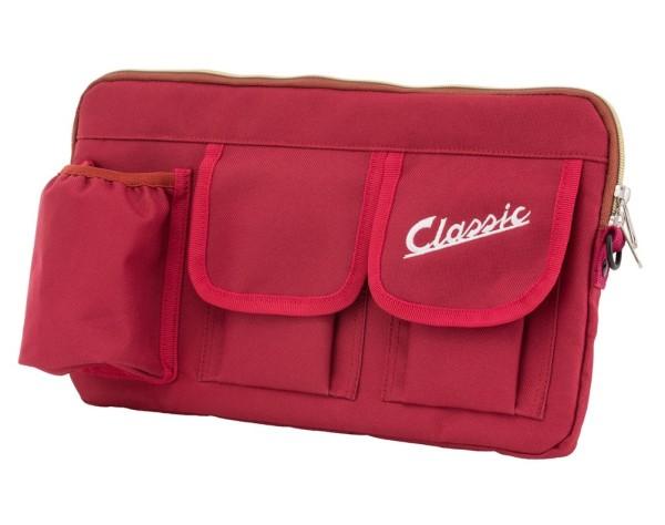 """Borsa """"Classic"""" per vano bagagli / vano portaoggetti Vespa - rosso, nylon"""